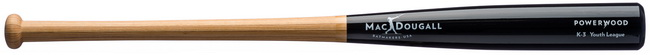 K-3 Youth Powerwood Baseball Bats for Youth Leagues